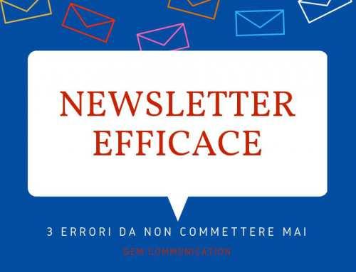 3 errori e 2 sviste da evitare con le newsletter…
