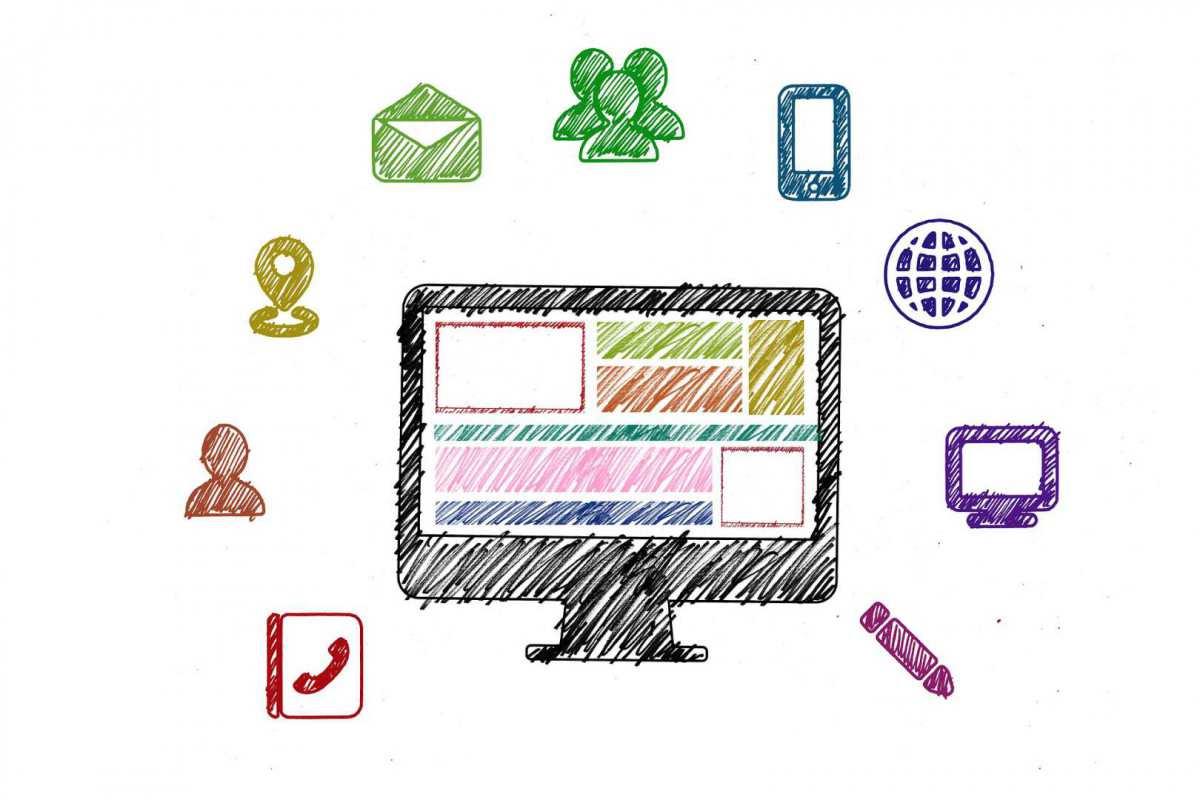 Image computer e attività azienda