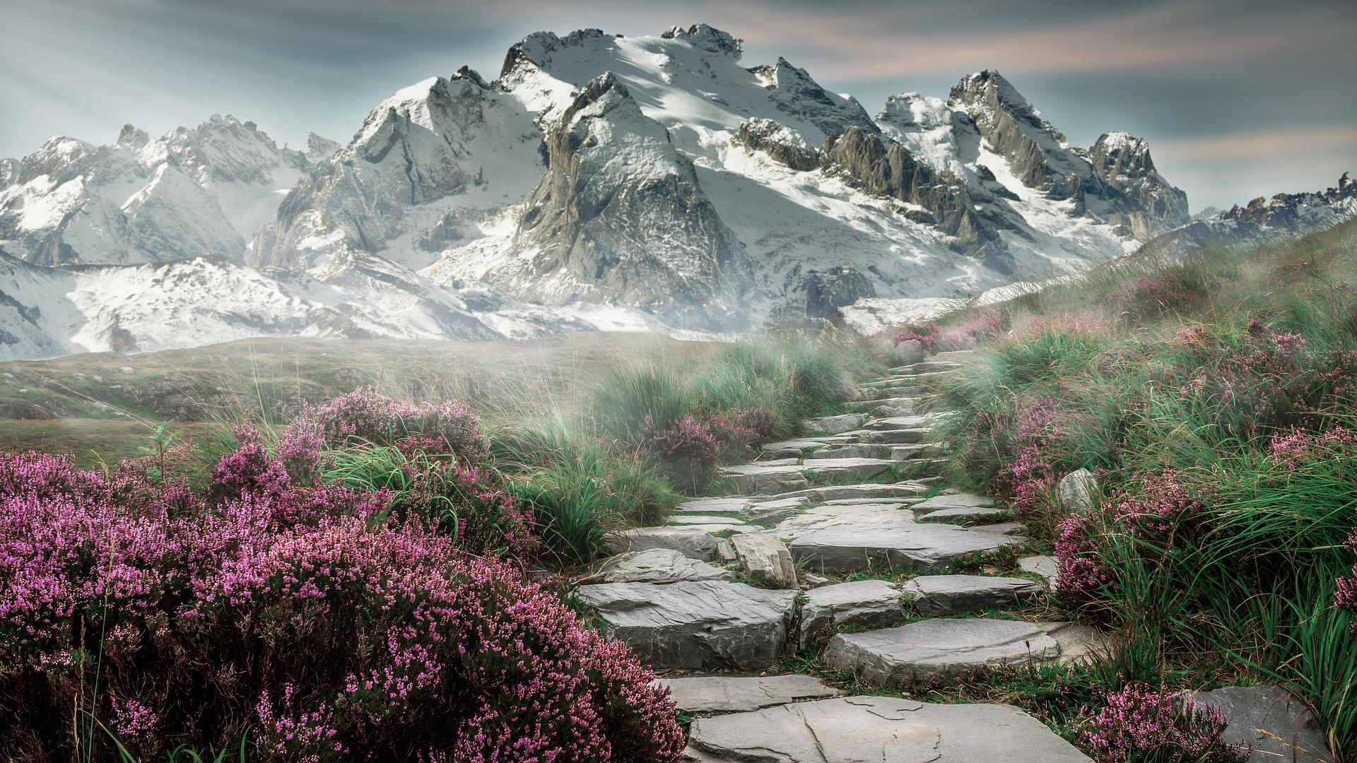 percorso montano