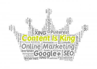 image content is king, sponsorizzare contenuti