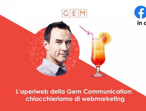 L'aperiweb della Gem Communication: chiacchieriamo di webmarketing!