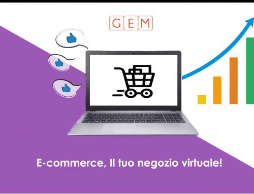 E-commerce, Il tuo negozio virtuale!