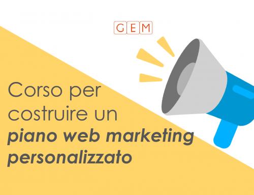 Corso per costruire un piano web marketing personalizzato